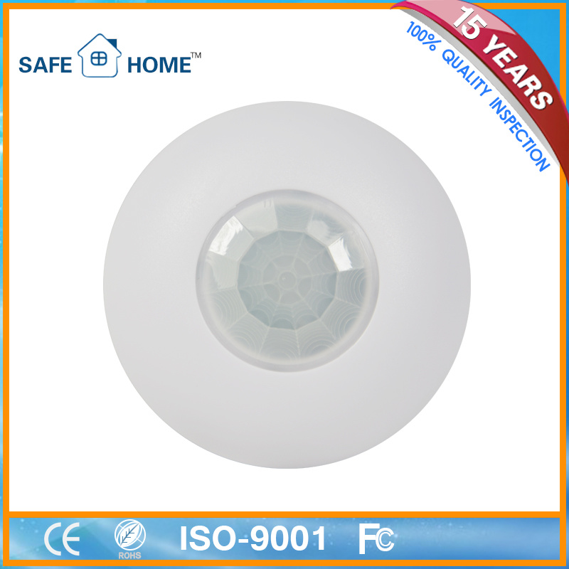 Wired Smart Ceiling 360 Degree Detecting PIR Motion Sensor
