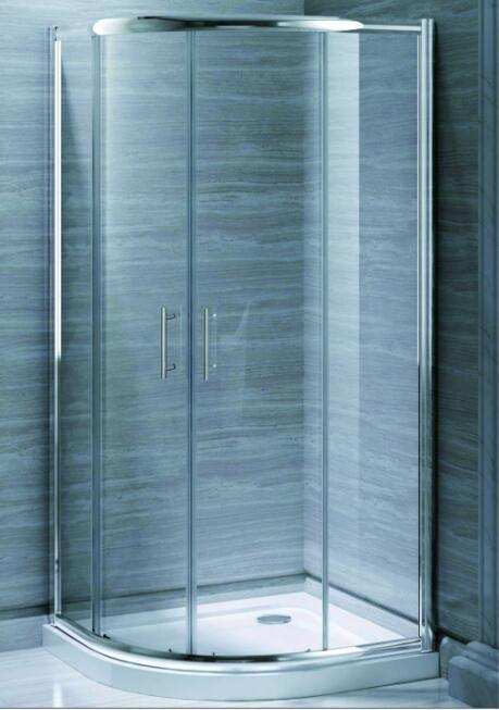 Bathroom MID-Range 6mm Quadrant Door Shower Enclosure (MR-QD90)