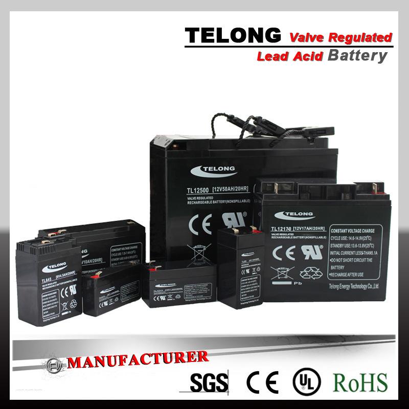 Hight Quality 12V20ah Valve Regulated Lead Acid Battery for UPS