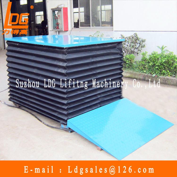 300kg 1.6m Hydraulic Scissor Lift (SJG0.3-1.6)