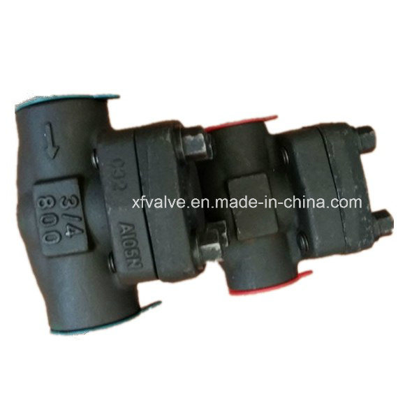 800lb/1500lb/2500lb Forged Steel A105 Thread End NPT Check Valve