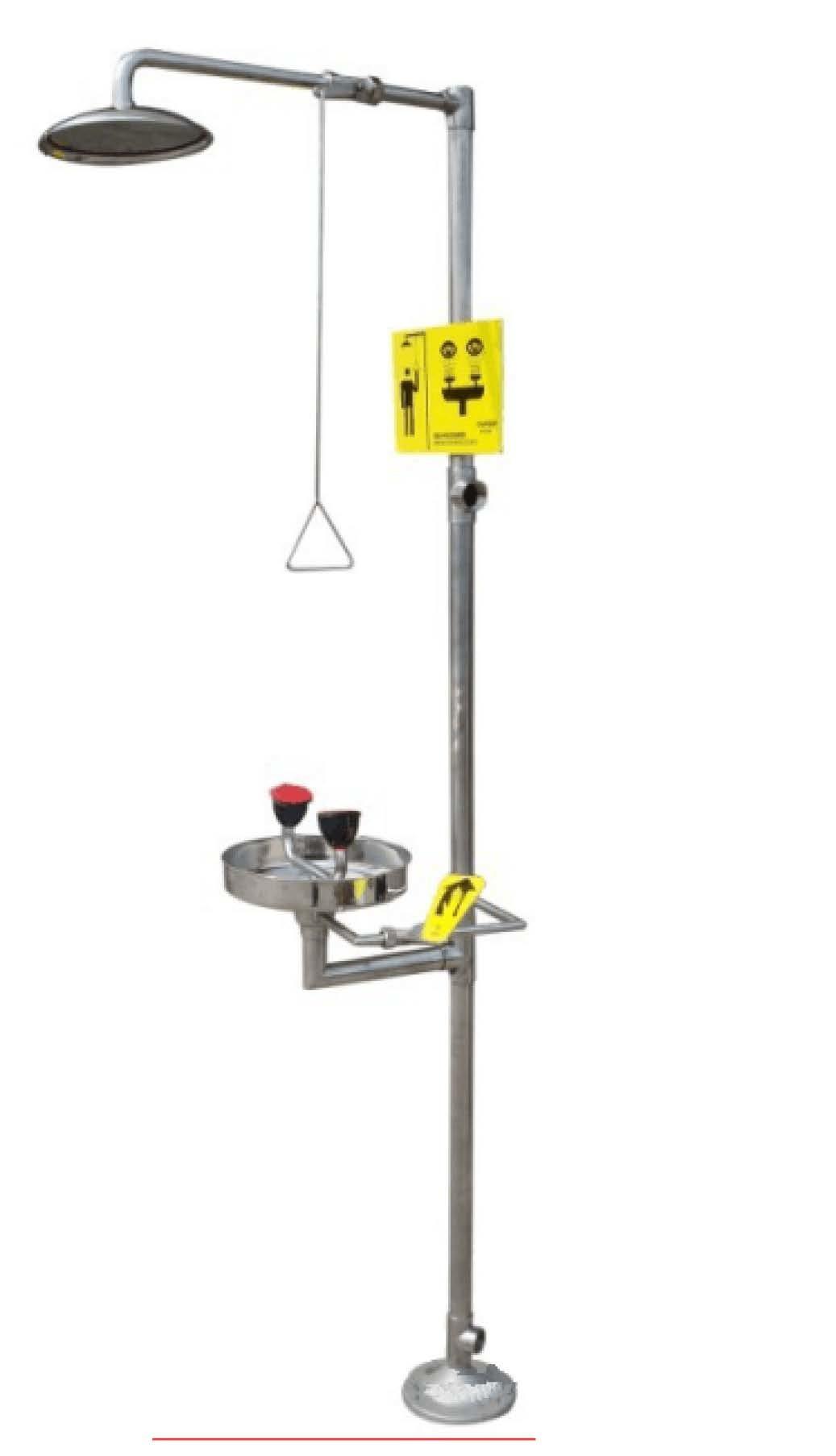 Luxury Combined Emergency Shower, Eye Wash (JH-EW004N)