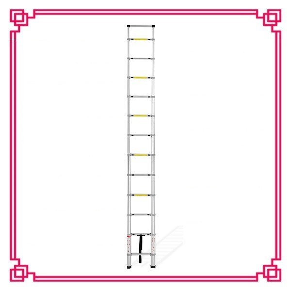 All Aluminium Connect 3.8m Single Aluminum Telescoping Ladder