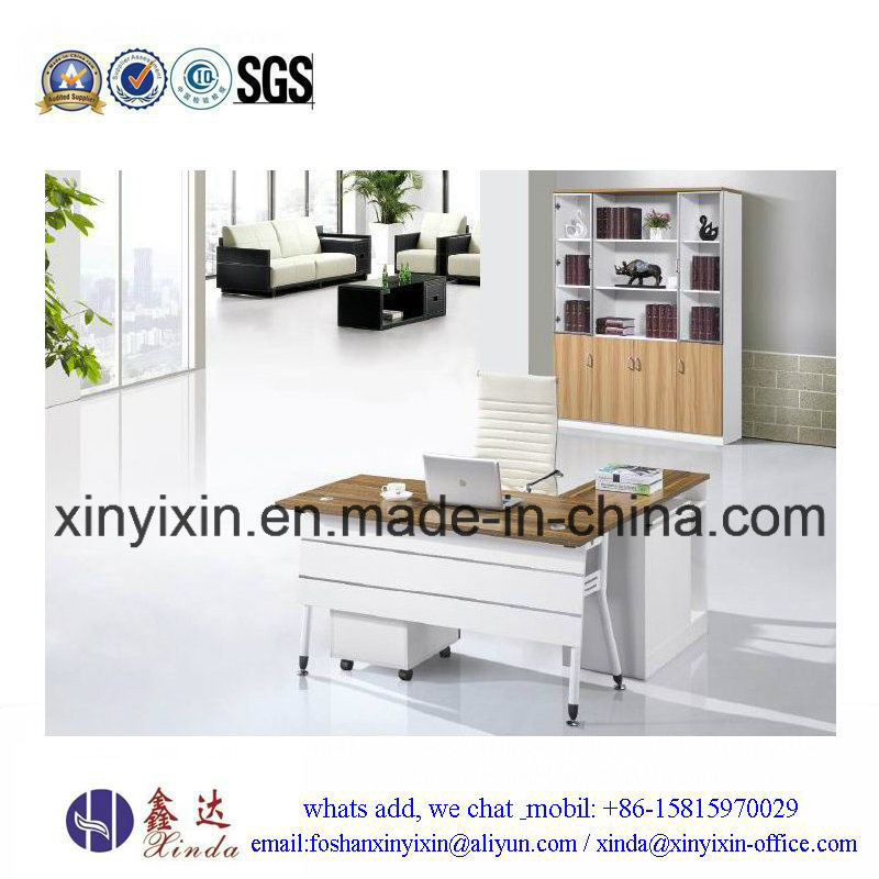 Customized Wooden Furniture MFC Manager Office Table (D1609#)