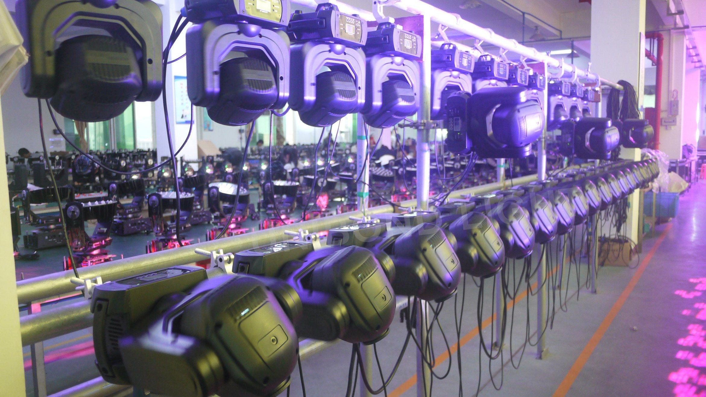 Mini 40W LED Moving Head Gobo Effect Spot Light
