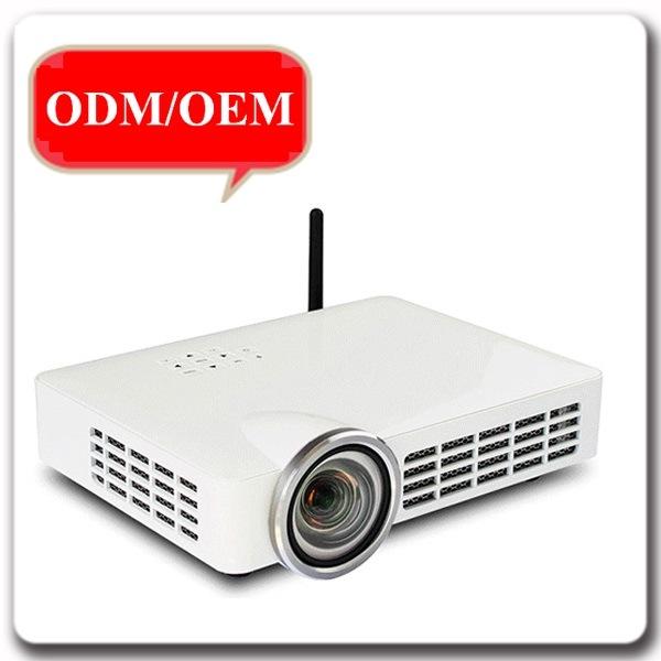 5000 Lumens HD 1080P WiFi DLP 3D Short Throw Projector