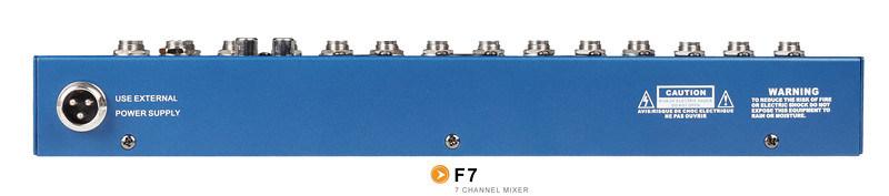 Mixer/Soud Mixer/Professional Mixer /Console/Sound Console/Brand Mixer /Mixing Console/F7