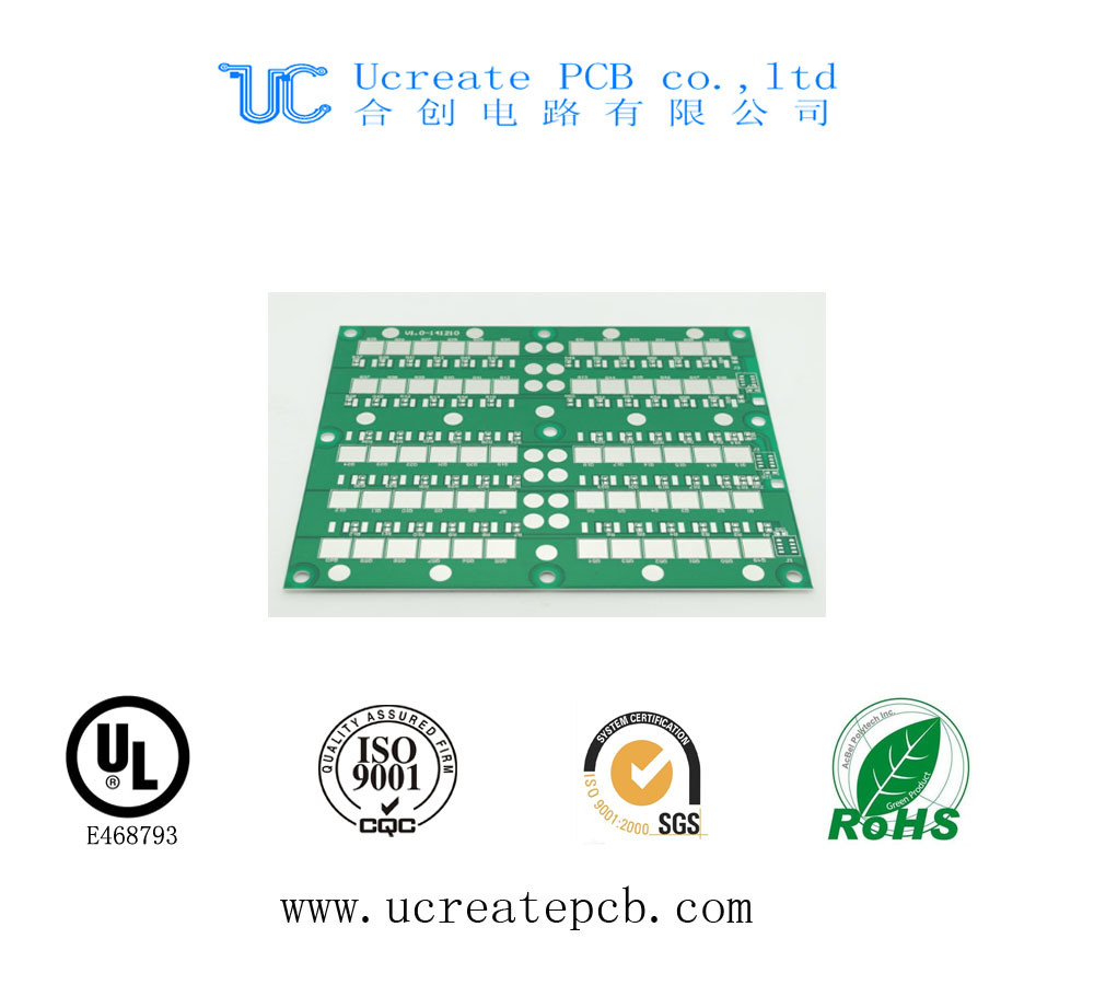 Green Mask MCPCB Printed Circuit Board with High Quality
