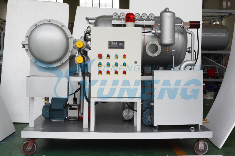 Online Vacuum Transformer Oil Dehydration Plant