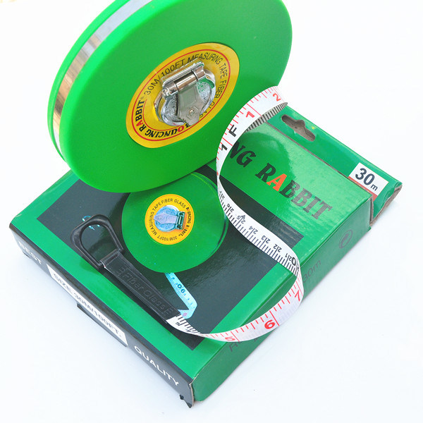 Long Distance Round Retractable Sticker Logo ABS Wheel Measuring Instruments (FB-100)