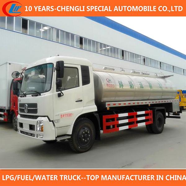 Milk Tank Truck 12000liters Milk Transport Truck for Sale