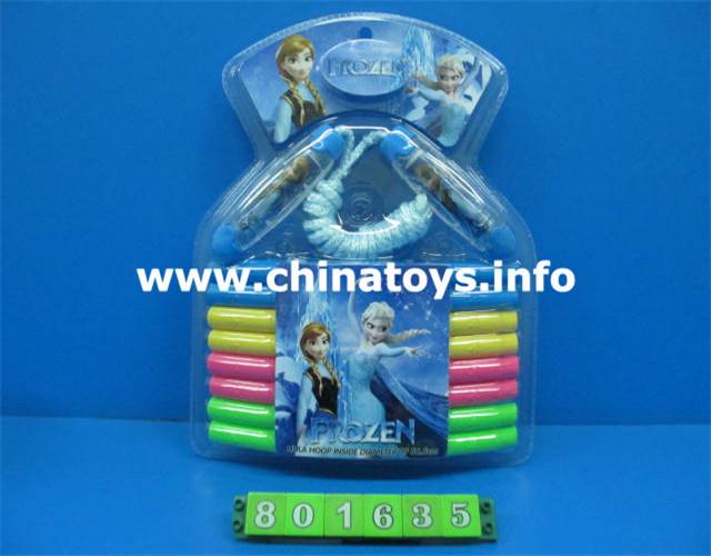 Sport Set Toy, Sport Tool, Sport Game, Jumping Rope, Racket, Hula Hoop, Badminton (801635)