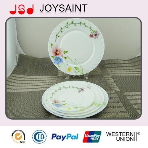 Decal Opal Dinnerware Glassware