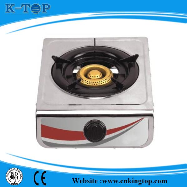 Sigle Burner Stainless Steel Panel Iron Burner Gas Cooker