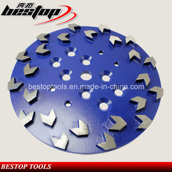 D250mm Arrow Segment Diamond Grinding Disc/Abrasive Grinding Wheel