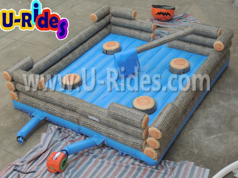 Inflatable Meltdown Game for Fun