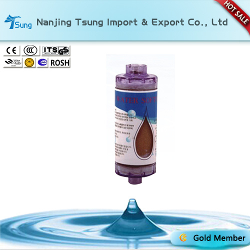 Transparent Resin Shower Filter Cartridge Ty-60
