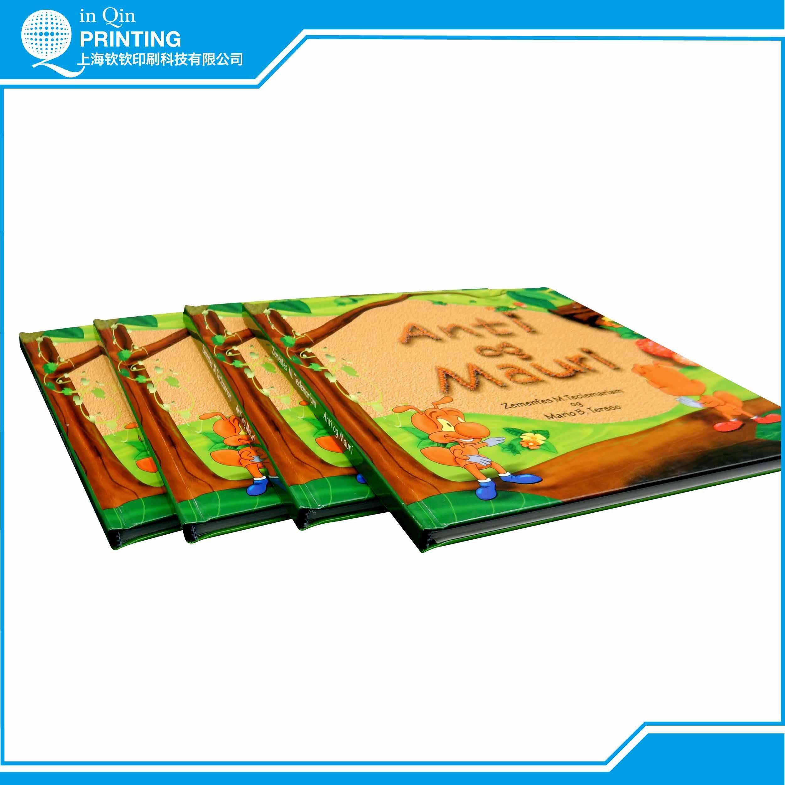 Offset Printing Custom Service Cheap Hardcover Children Book Printing