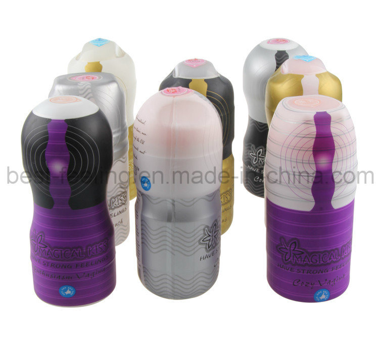 Hot Sale Real Feel Vibrator Masturbation Cup for Men
