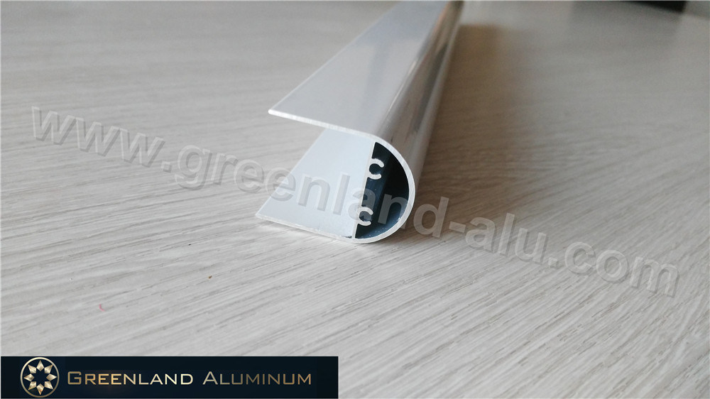 Gl1067 Bottom Tube for Roller Blind in Aluminum Profile