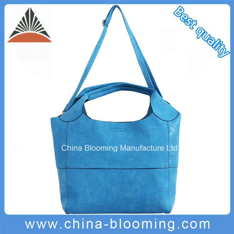 Shoulder Messenger Shopping Bag Inside Pouch Lady PU Handbag