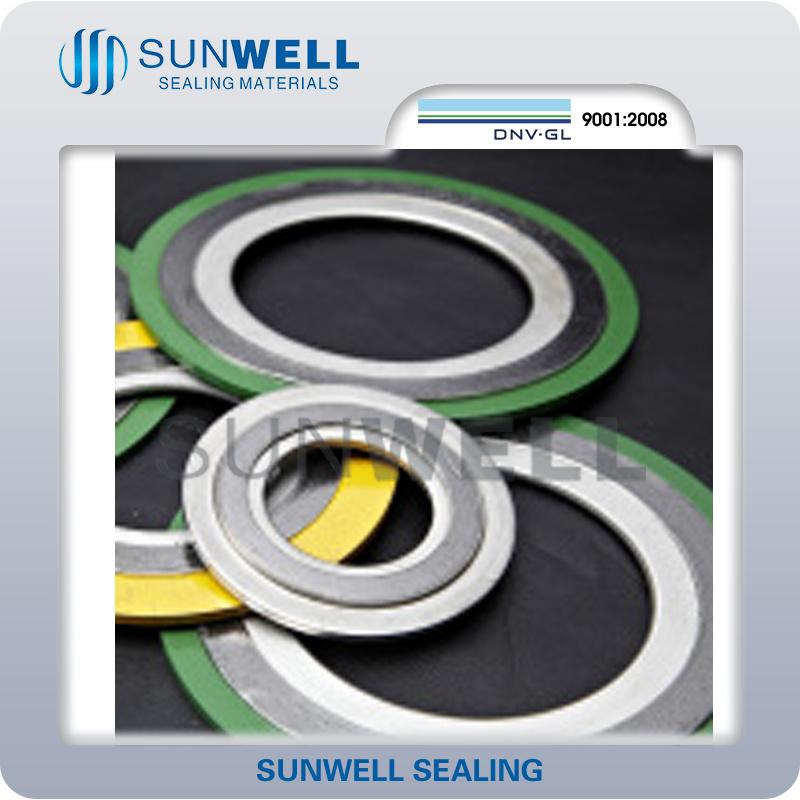 Gasket, Spwd: 316 Ss Inner Ring, CS Outer Ring, Style Sgir, 316 Spg