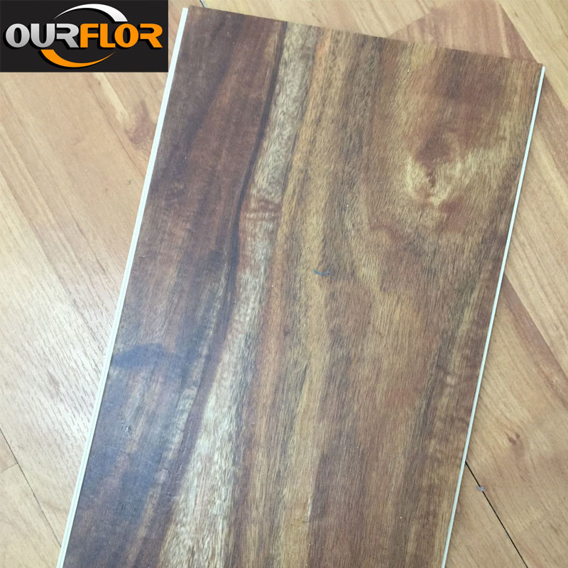 100% Waterproof WPC Vinyl Flooring Tiles / WPC Flooring Planks for Indoor Use
