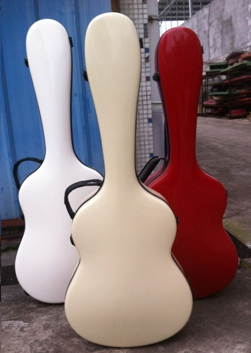 Aiersi Colour Fiber Glass Guitar Hard Case Gfg04