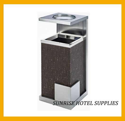 Hotel Lobby Ashtray Bins with Swivel Lid