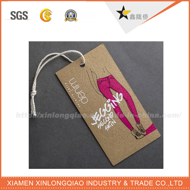 Best Price Eco-Friendly Printed Logo Kraft Hang Tag