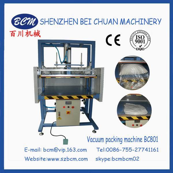 Vacuum Compressed Bag Pillow Packing Machine
