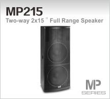 Professional Loudspeaker (MP215)