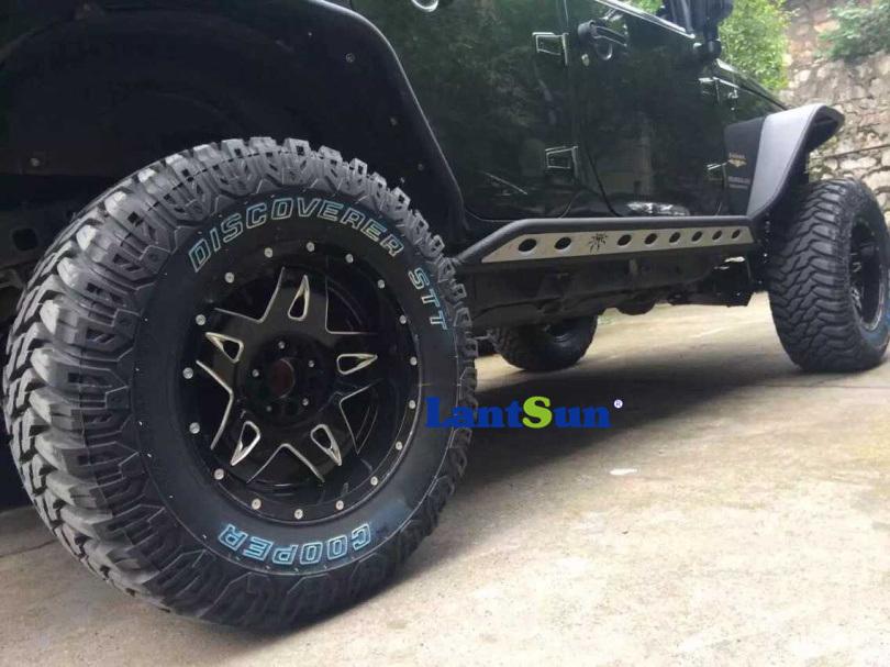 Poison Spider Side Steps for Jeep Wrangler Jk 4 Doors
