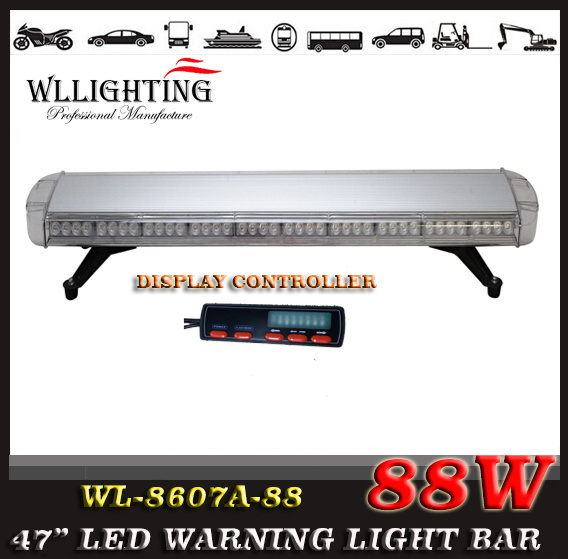 LED Used Police Emergency Warning Light Bars with Digital Controller