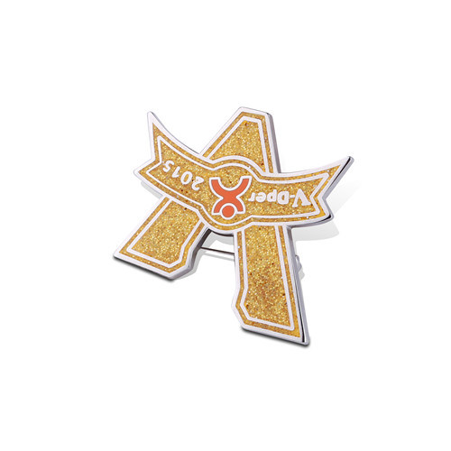 Brass Souvenir Gift and Soft Enamel Badge (GZHY-FFL-003)