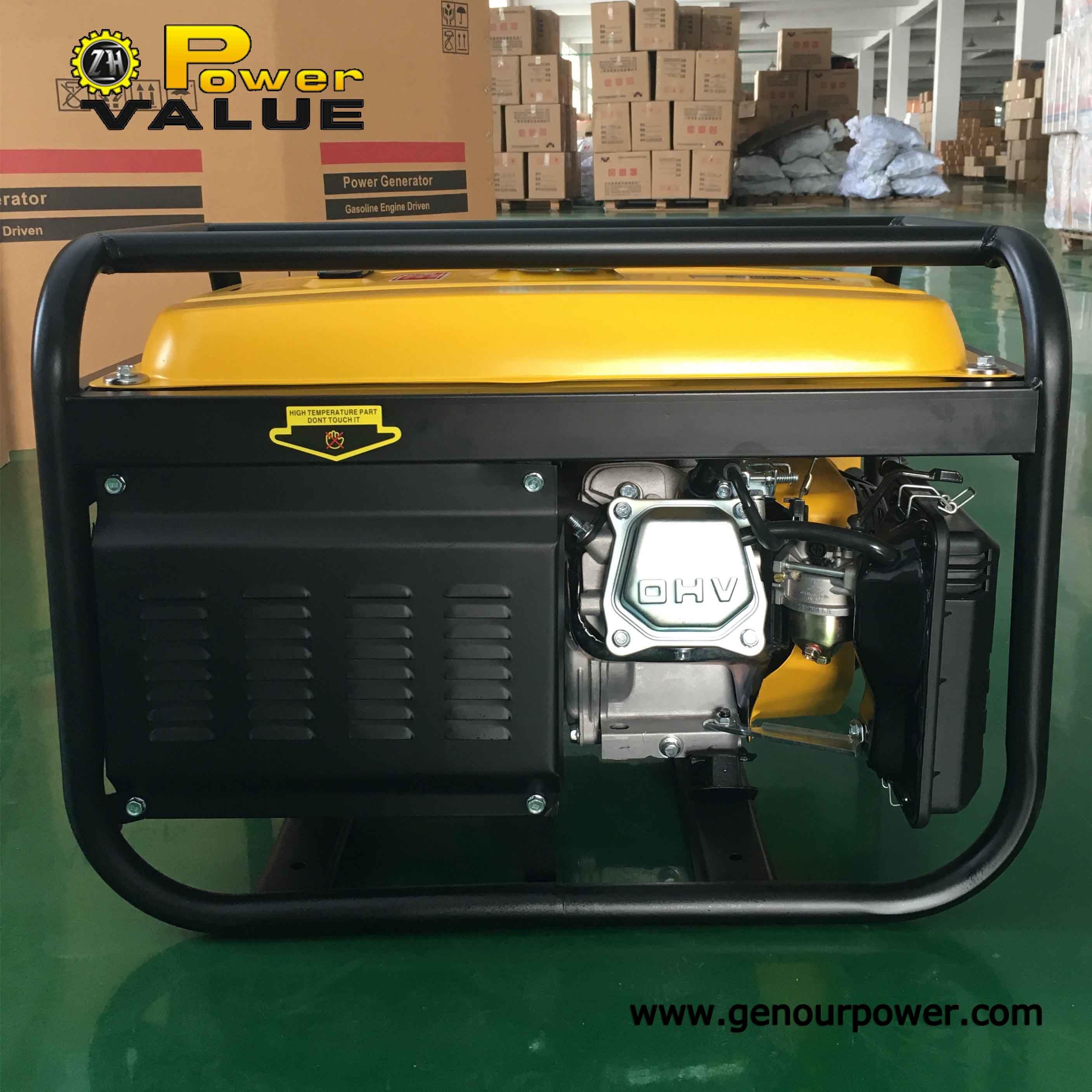 China Factory Price China Petrol Gasoline Portable Generator