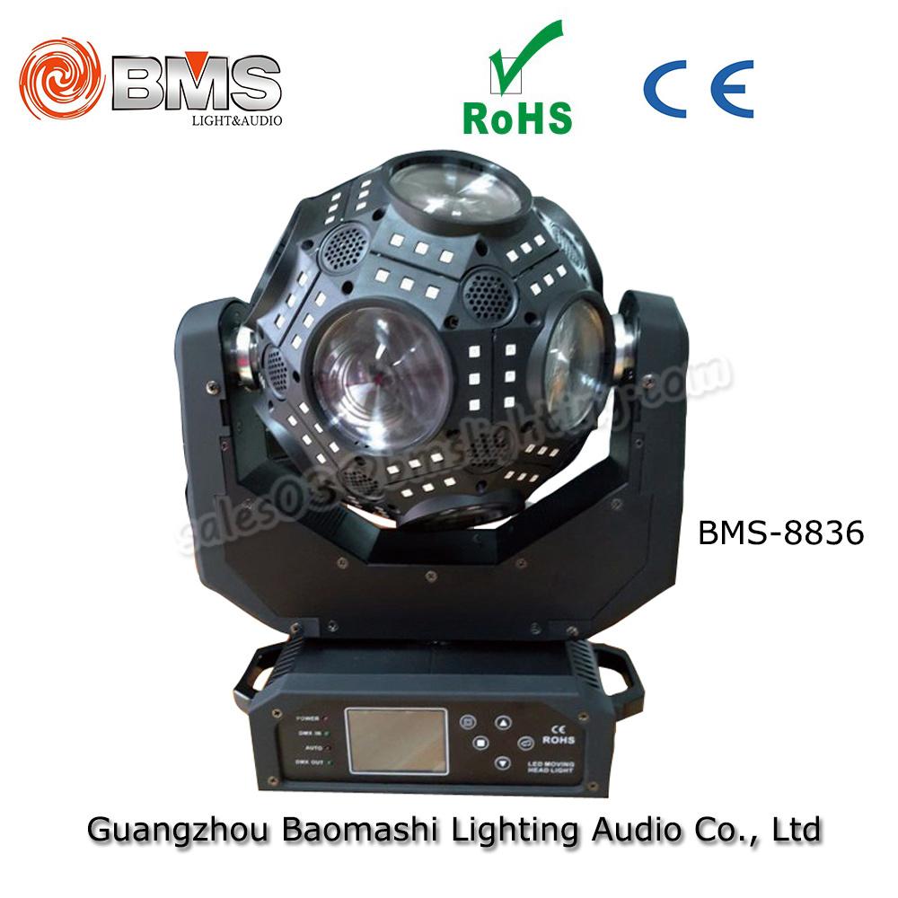 LED Cosmopix Moving Head Ball Light