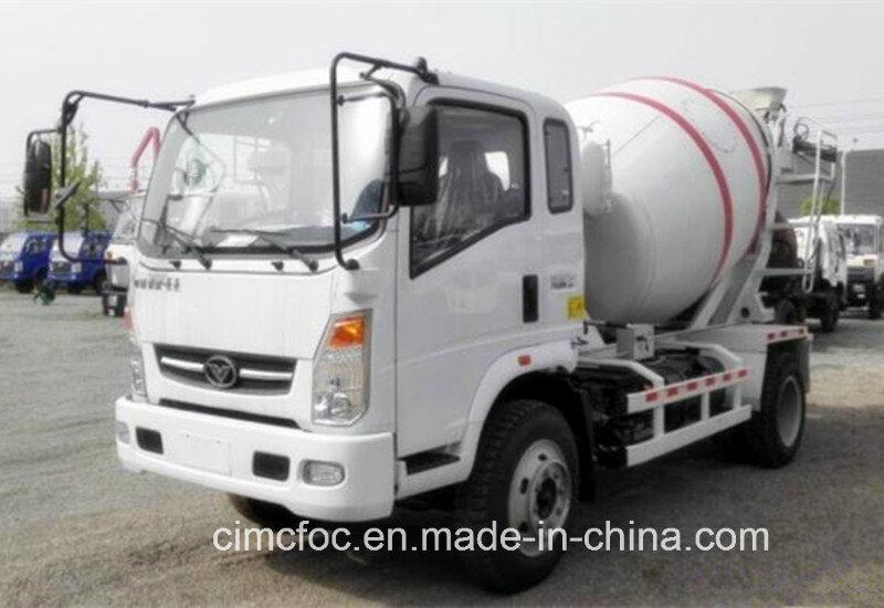 Sinotruk with Man Technology Light Concrete Mixer Truck