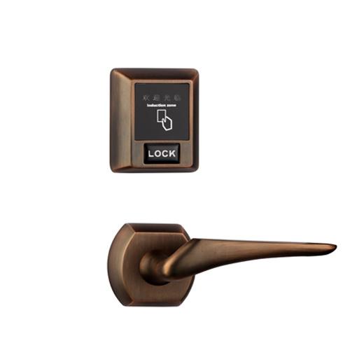 Separate RF57 Hotel Door Lock in Golden Color