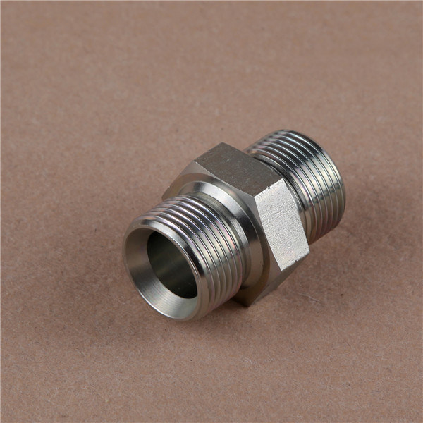 Bsp Male Connector Double Use Bouned Seal Hydraulic Adapter