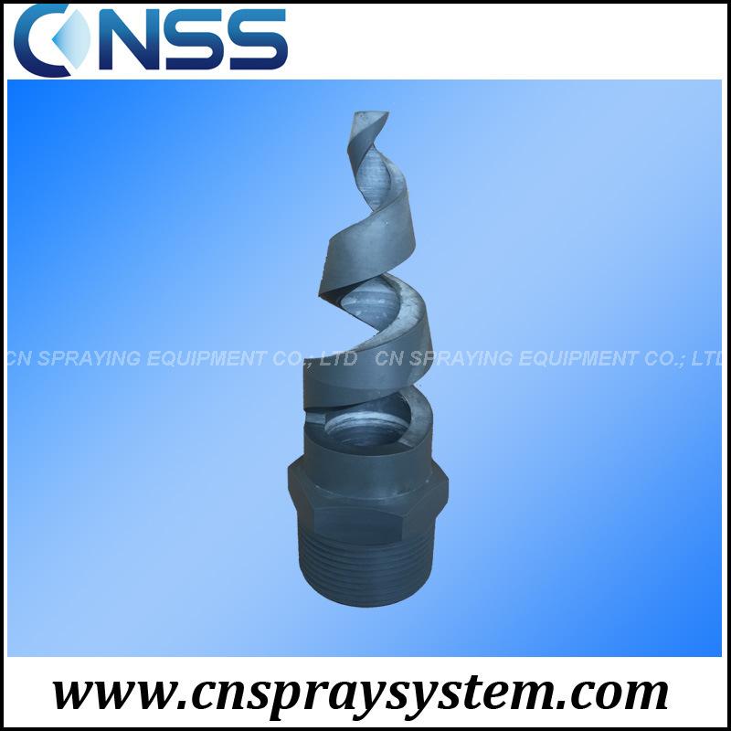 PVC Sprialjet Full Cone Spiral Nozzle for Deforming