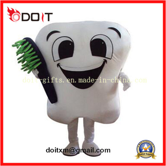 Company Mascot Designing Factory Amway Smiley Tooth Mascot
