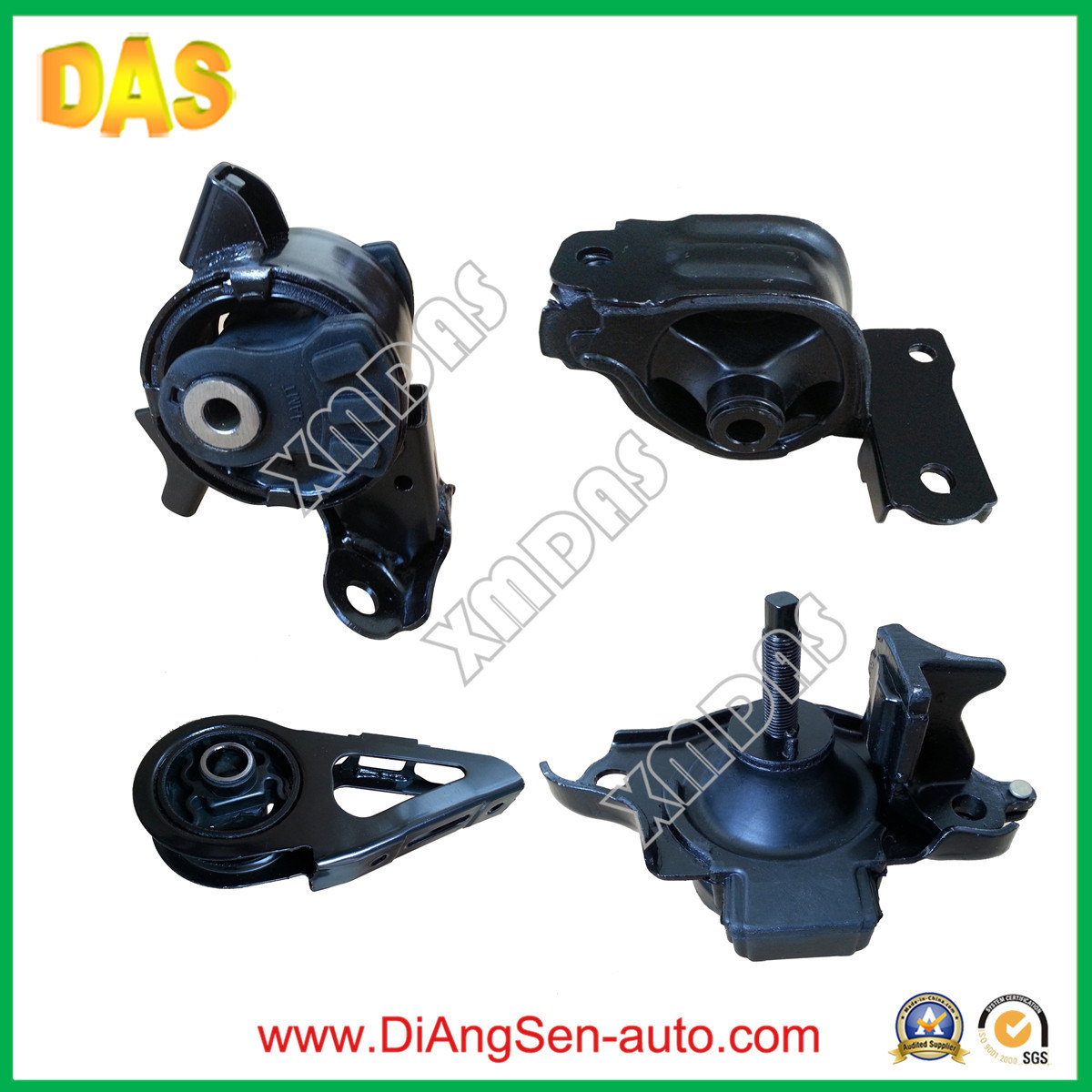 Repair Auto Parts Engine Motor Rubber Mount for Honda City 2007-2011 (50805-SAA-013, 50810-SEL-T81, 50826-SEL-E01, 50840-SAA-003)