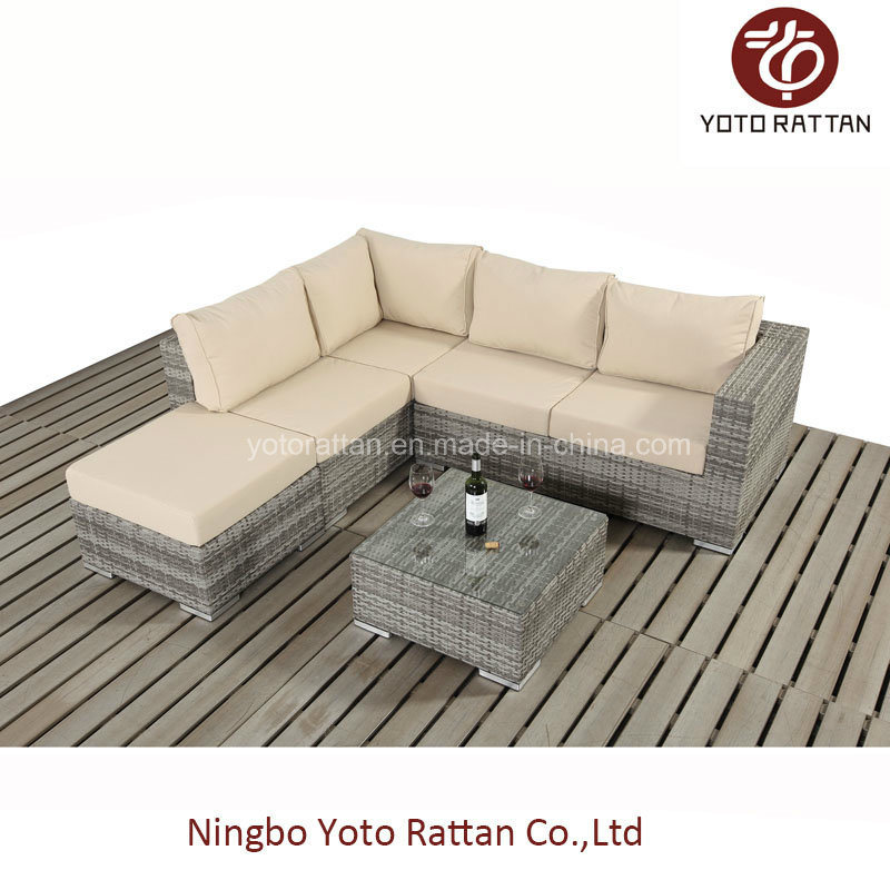Small Sofa Set for Outdoor with Rattan / Wicker / SGS (401-A)