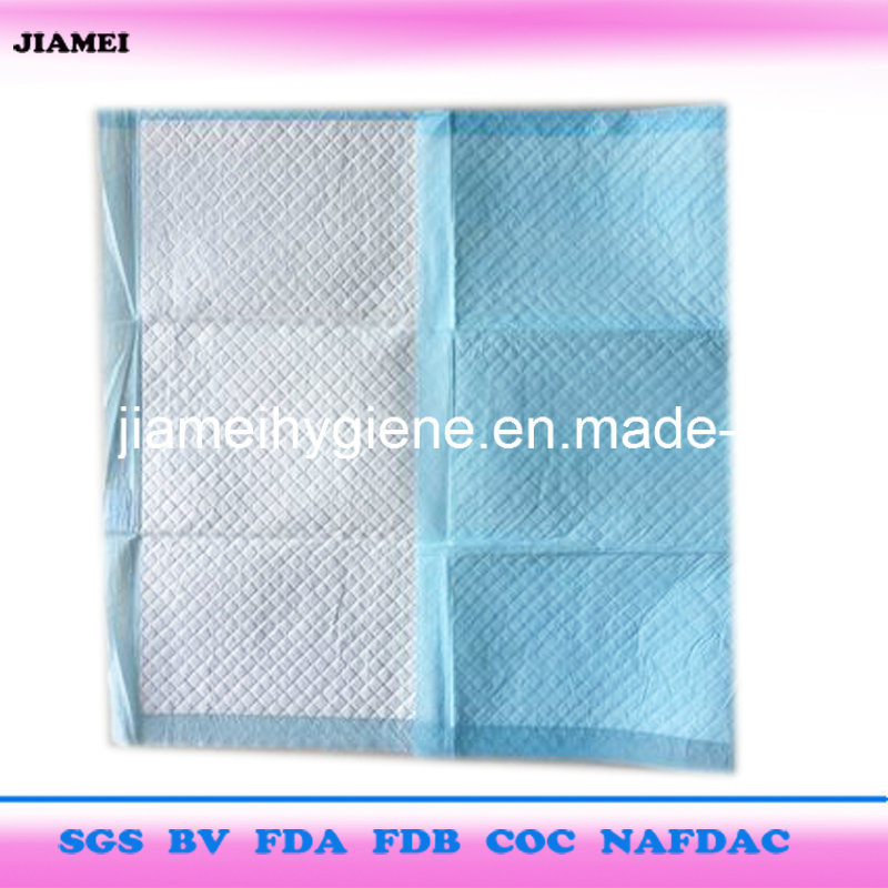 Hospital or Nursing House Used Disposable Underpads