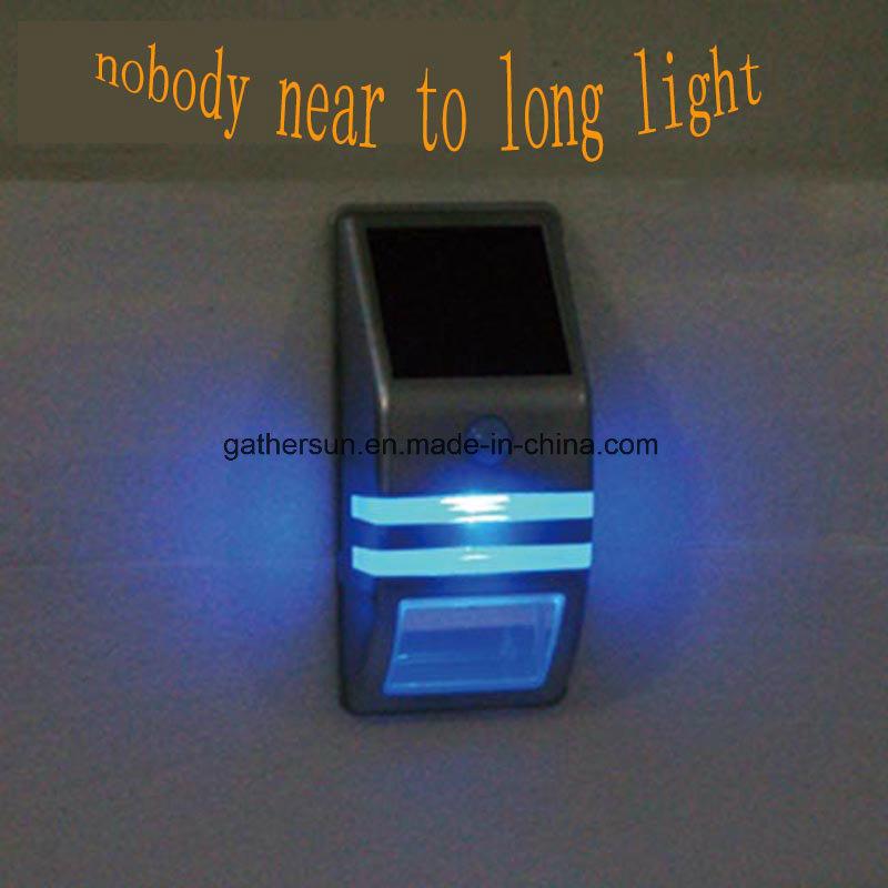 LED Solar PIR Sensor Light Outdoor for Garden Fence Light