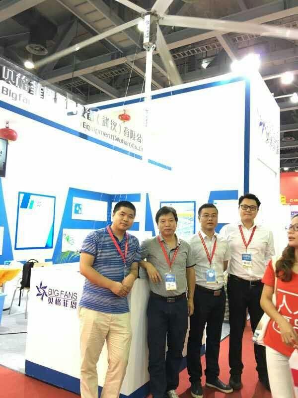Supermarket 3.8m Large Size DC Motor Floor Ventilation Fan Philippines