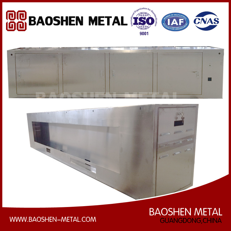 Stainless Steel Metal Shell/Box/Cabinet Metal Production Machinery Parts