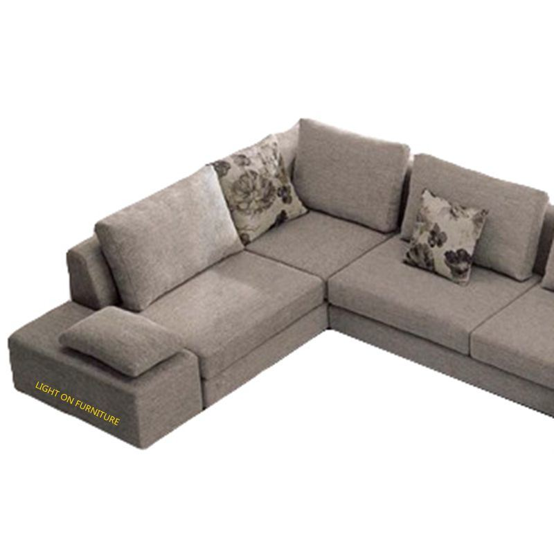 European Style Modern U Shape Fabric Sofa (F832)