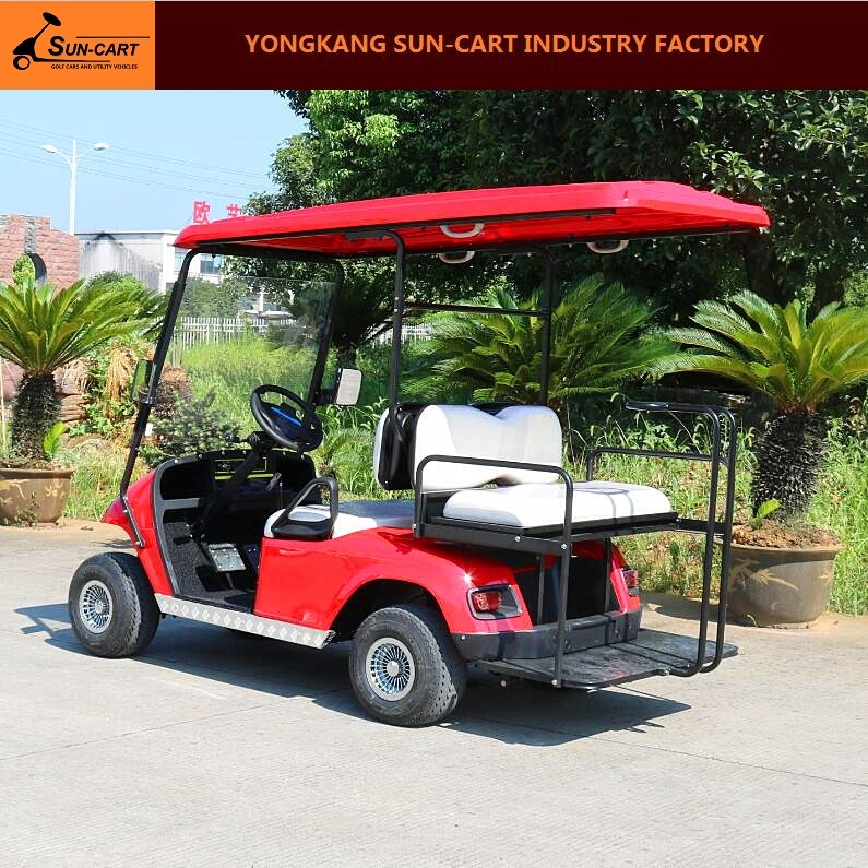 Ce Approved Good Quality 4 Seats Electric Golf Cart